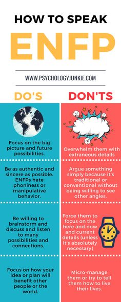Simple tips for communicating with an #ENFP #MBTI