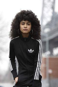 estilo de rua da adidas ny mulher | moda / música | Cheryl Dunn