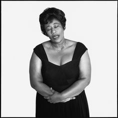Singer Ella Fitzgerald, New York, 1959. Photo by Richard Avedon. Classic Ladies of Color