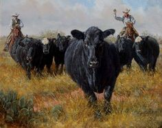 Cowboy Artists of America - National Cowboy & Western Heritage Museum Horse Art, Cow Art, West Art, Animal Art, Southwest Art, Pictures To Draw, Cowboy Artists, Cowgirl Art, Art