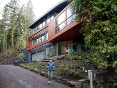 Cullens house & geometric lines against an organic setting | A House | Pinterest ...
