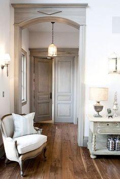 white wash doors and trim