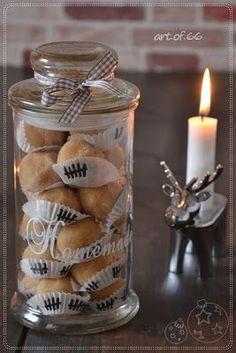 """Hallo ihr Lieben, gestern habe ich noch schnell für meine Mutti einen Adventskalender """"zusammengerührt"""". Das Rezept dieser leckeren K..."""