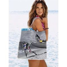 Victoria's Secret Angel Super Model Beach Tote New (collectors item) Victoria's Secret Accessories