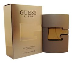Guess Suede by Guess Eau De Toilette Spray 1.7 oz by GUESS. $27.95. Year Introduced: 2007. Fragrance Notes: bergamot, tangerine, pineapple, lavender, sage, nutmeg, vetiver, sandalwood, suede, mahogany. Recommended Use:. EDT SPRAY 1.7 OZ. This is a contemporary masculine fragrance composed by Ellen A. Molner. The scent which is an eau de toilette is composed of top notes of bergamot tangerine and pineapple heart notes of lavender sage and nutmeg and vetiver sandalwood ...