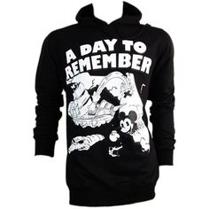 A Day To Remember Hoodie Sweatshirts Jumper Jacket S, M, L ($36) ❤ liked on Polyvore