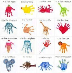 Fun handprint projects!