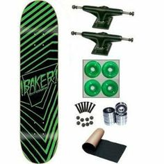 Baker Team Exclamation 7.75 Skateboard Complete by Baker. $64.99