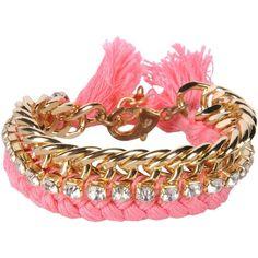 Ettika Bracelet ($56) ❤ liked on Polyvore featuring jewelry, bracelets, light purple, rhinestone jewelry, ettika, ettika jewelry and rhinestone bangles