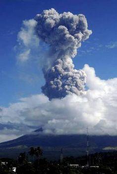 Volcán Mayón, Filipinas.