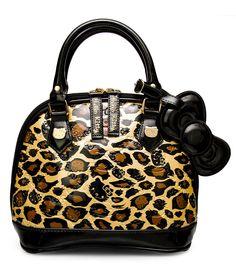 HELLO KITTY MINI LEOPARD EMBOSSED BAG - Hello Kitty - Brands
