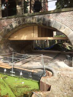 Grachten en kades van Utrecht