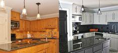 modernen Touch der Küche geben - Küchenfronten ersetzen und Fliesen anders färben