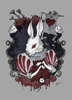 Image result for Alice in Wonderland gore