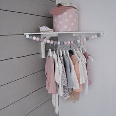 cool cloth hanger..