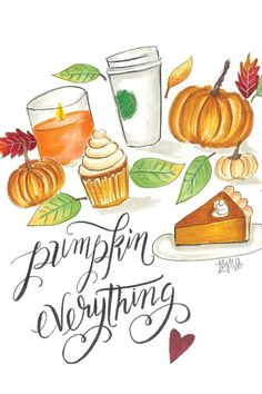ha turns out i'm allergic to pumpkin. and i was born on halloween. :( and i love pumpkin :( :( :( :( :( Lily And Val, Autumn Illustration, Autumn Aesthetic, Happy Fall Y'all, Fall Pumpkins, Autumn Inspiration, Fall Halloween, Pumpkin Spice, Pumpkin Pumpkin