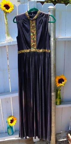 1970s Boho Festival Dress