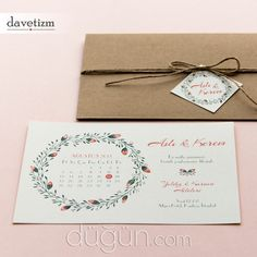 Davetizm Place Cards, Place Card Holders, Gifts, Presents, Favors, Gift