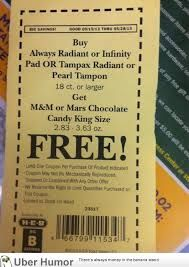 Brilliant marketing in the coupon department #PMS