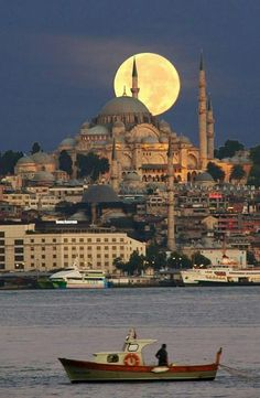 Die beste Kegelbahn in Istanbul - # # . Beautiful Places In The World, Places Around The World, Wonderful Places, Istanbul City, Istanbul Travel, Bowling, Mosque Architecture, Beau Site, Beautiful Mosques