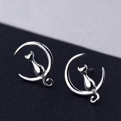 MOSHANG - Cat Earrings