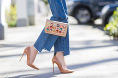 If you are into fashion like I am, you will certainly not have missed the hype around the Parisian fashion label Vetements. Blue Aviator Sunglasses, Blue Aviators, Nude High Heels, Christian Louboutin, Louboutin Pumps, Classic Pumps, Red Sole, Classic Looks, Navy And White