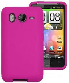 HTC Desire HD Silicone Skin Case - Hot Pink