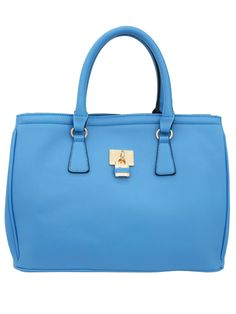 e8686de7c970 Blue Square Cross Shoulder Bag