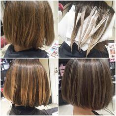 もともとハーフブリーチをしているところから、さらにデザインをプラス⭐️ #フリンジラッシュ#ブリーチ#ホワイトグレージュ #hair…