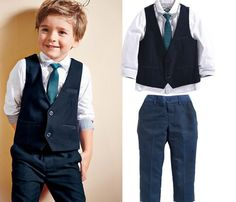 Cheap boys suits, Buy Quality suit for boys directly from China kids tales Suppliers: KIDS TALES Wedding Suits for Boys Set Autumn 2017 Children Leisure Clothing Sets Kids Baby Boy Suit Vest Gentleman Clothes Boys Suit Vest, Baby Boy Suit, Baby Boy Dress, Vest And Tie, Blazer For Boys, Baby Boys, Kids Boys, Toddler Boys, Kids Vest