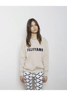 Isabel Marant Étoile Kony Fujiyama Sweatshirt | La Garçonne