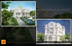 Mẫu thiết kế biệt thự kiểu hoàng gia Mansions, House Styles, Home, Manor Houses, Villas, Ad Home, Mansion, Homes, Palaces