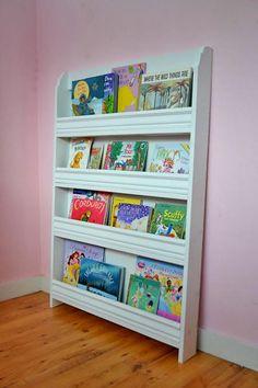 Children's front facing book rack. Make this children's book rack ...