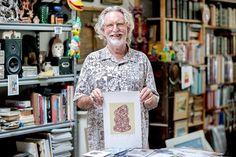 Twenty five years ago Dick Frizzell was in his studio, mucking about with his palette when he accidentally made a tiki. This week, Dick Frizzell jo. Creative Background, Sold Sign, Culture Travel, Screen Printing, Artists, Instagram Posts, Celebration, Paintings, Night