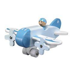 KIDS CONCEPT Lentokone, vaaleansininen Kids Toys, Concept, Children, Autos, Woodworking Toys, Aircraft, Childhood Toys, Young Children, Boys