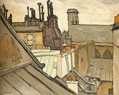 Albert Marquet, Les toits de Paris