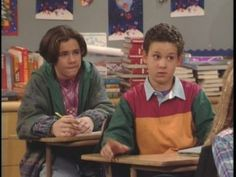 Marty York Boy Meets World Images & Pictures - Becuo Boy Meets World Shawn, Girl Meets World, Cory Matthews, Rider Strong, Teen Tv, 90s Movies, World Images, Retro Aesthetic, Disney Channel