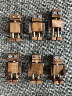 The family has expanded. Woodworking Projects For Kids, Wood Projects, Wood Log Crafts, Handmade Wooden Toys, Wood Creations, Wood Toys, Diy Toys, Diy Crafts For Kids, Wood Art