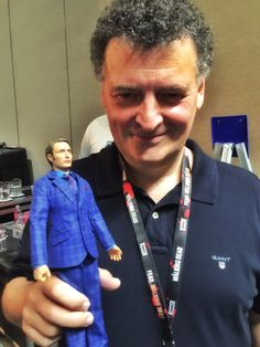 Moffat with Hannibal! My life is complete! ---> Picture is from Bryan Fuller's twitter
