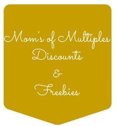 Moms of Mulitples Discounts from It Happens in a Blink freebies for mothers of multiples
