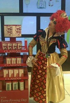 The Queen of Hearts at Heathrow Airport