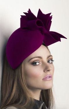 Rachel Trevor - Morgan Millinery, A/W 2015. #passion4hats: