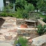 front yard patio ideas | frontyard patio to watch the kids play ... - Front Yard Patio Designs