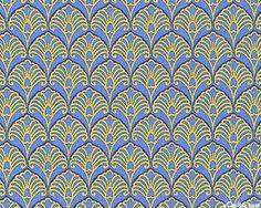 Art nouveau wallpaper design