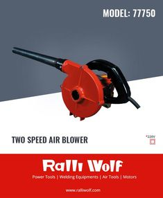 The versatile portable Two speed double insulated blower cleans #machinery with a 400/ 315 kmph air blast. The perfect design and construction of the blower process delivers long durability. Very low maintenance cost, less breakdown.