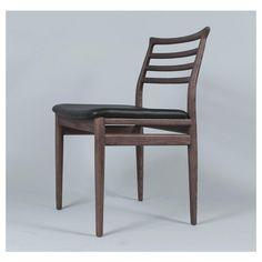 Found it at Wayfair - Moller Side Chair Solid Wood Dining Chairs, Dining Chair Set, Dining Table, Dining Hutch, Sofa Bed Design, Furniture Design, Wood Storage Cabinets, Restaurant Furniture, Dining Room Inspiration