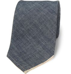 Beams Plus Chambray Tie. It's like a regular tie but more money.