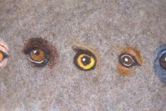 Felting eyes
