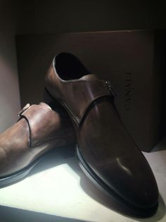 Canali Leather Classic Shoes