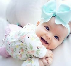 Cutie #baby #girl. Find some old #french #names for your baby.